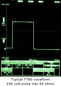Typical T760 Waveform